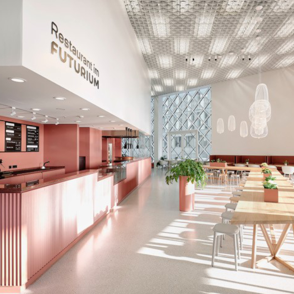 Interieur Restaurant im Futurium Berlin