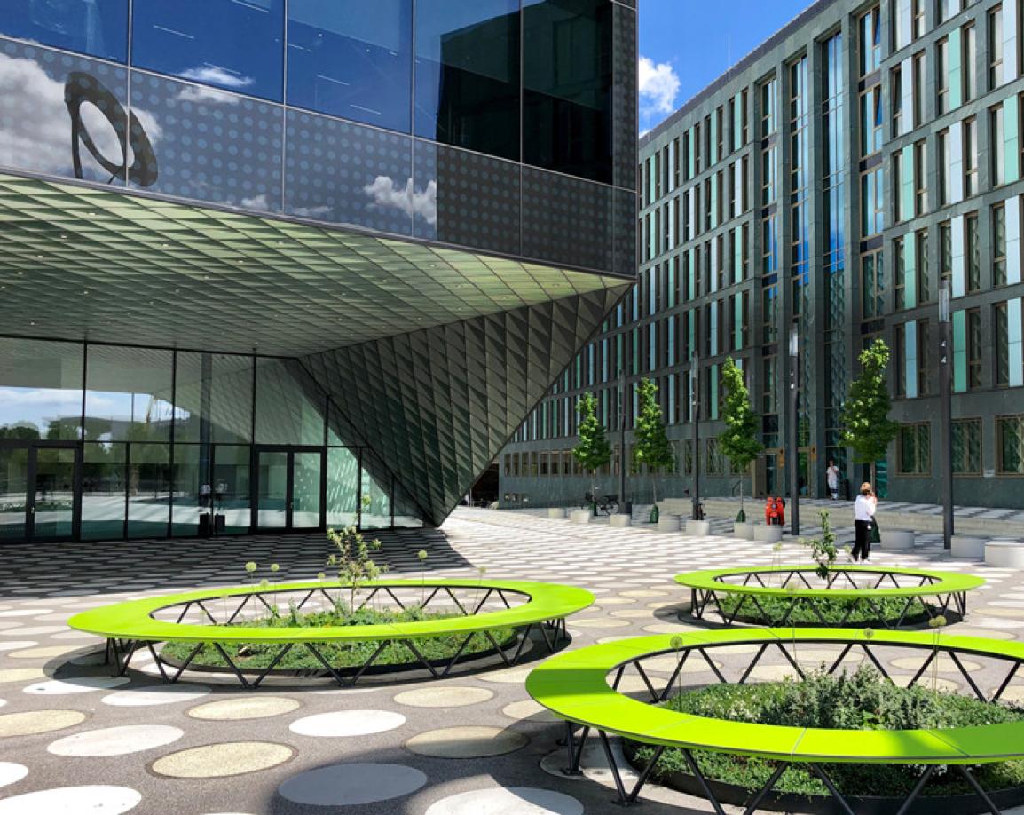 Außenbereich Restaurant Futurium Hoflieferanten
